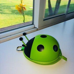 Accessories - 😊Earbud & Keyholder 🐞 ladybugs